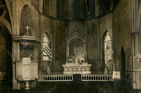 St. Ansgarius 1920 interior